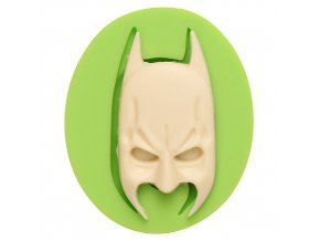 7ES 0813 Batman Mask Fondant Silicone Molds for cake decorating