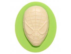 7ES 0814 Spiderman Mask Fondant Silicone Molds for cake decorating