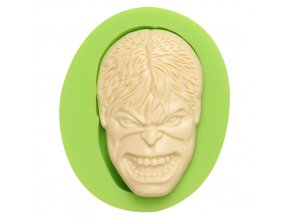 7ES 0812 The Hulk Mask Fondant Silicone Molds for cake decorating
