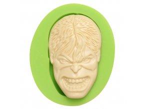 7ES 0812 The Hulk Mask Fondant Silicone Molds for cake decorating