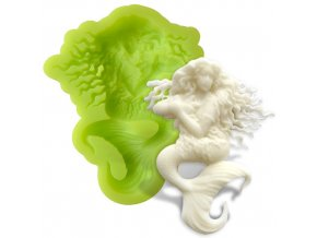 7ES 0703 Mermaid Silicone Molds Fondant Mould for cake decorating