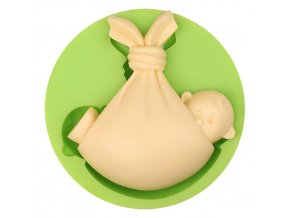 ES 1017 Lovely Awake Baby Silicone Mold