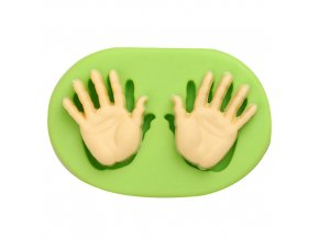 ES 1301 Baby Hands Silicone Mould