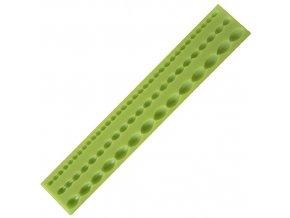 Silikonová formička podlouhlé perličky