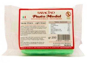 Modelovací hmota Saracino - světle zelená