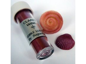 Jedlá prachová barva Sugarflair Claret Wine