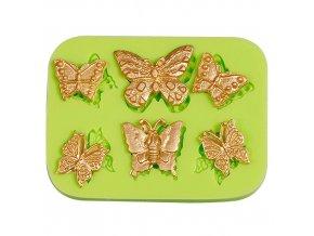 Silikonová formička Motýlci