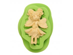 ES 1401 Angel girl Silicone Molds for Fondant Cake Decorating