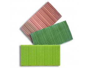 Silikonová formička pletený vzor III