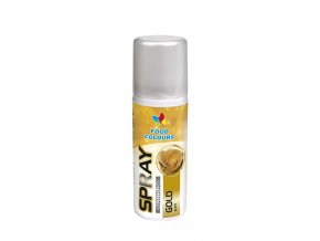 barva ve spreji food colours gold 50 ml zlata1