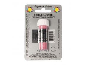 jedla prachova perletova barva sugarflair 2 g fairy dust pink