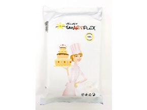 smartflex velvet vanilka 1 kg v sacku potahovaci a modelovaci hmota na dorty 1