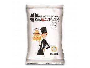 smartflex black velvet vanilka 0 25 kg v sacku potahovaci a modelovaci hmota na dorty 1