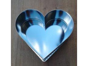 Forma na pečení srdce malé