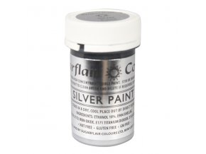 silver paint