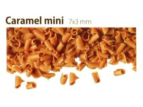 cokoladove hobliny karamelove mini 80 g
