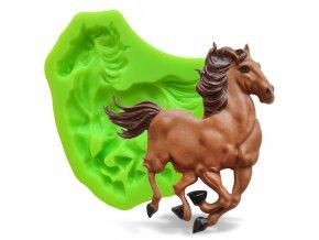 Silikonová formička běžící kůň