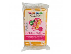 funcakes marcipan golden yellow 250 g