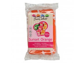 funcakes marcipan sunset orange 250 g