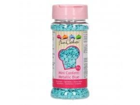 funcakes cukrove konfety metalicke modre 70 g