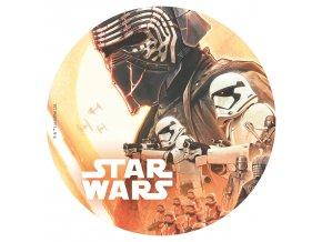 231269 6 DISCOS COMESTIBLES 20CM STAR WARS 1