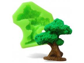 Silikonová formička strom