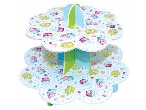 Papírový stojan na cupcakes