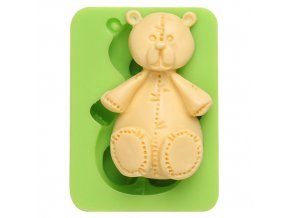 7ES 0003 Animal Mould Teddy Bear Fondant Silicone Molds for cake decorating