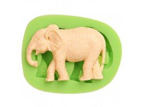 7ES 0020 Elephant Silicone Molds Fondant Mould for cake decorating