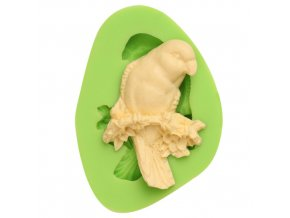 7ES 0102 Bird Silicone Molds Fondant Mould for cake decorating