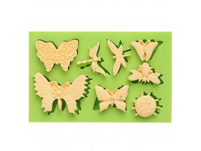 7ES 0207 Butterflies Series Silicone Molds Fondant Mould for cake decorating
