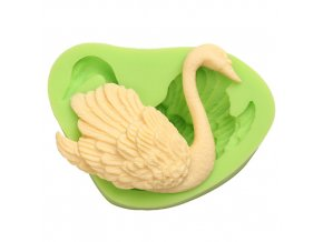 7ES 0304 Animal Mould Swan Fondant Silicone Molds for cake decorating