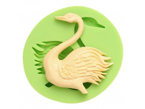 7ES 0305 Animal Mould Swan Fondant Silicone Molds for cake decorating