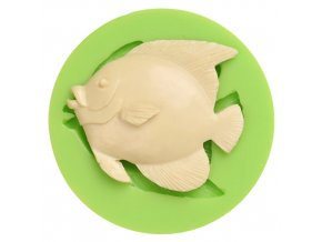 7ES 0405 Ocean Fish Silicone Molds Fondant Mould for cake decorating