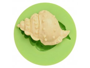 7ES 0501 Conch Shaped Silicone Molds Fondant Mould for cake decorating