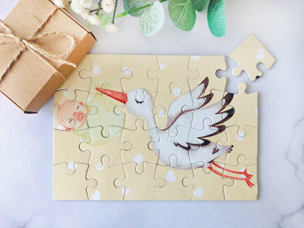 puzzle OT čáp