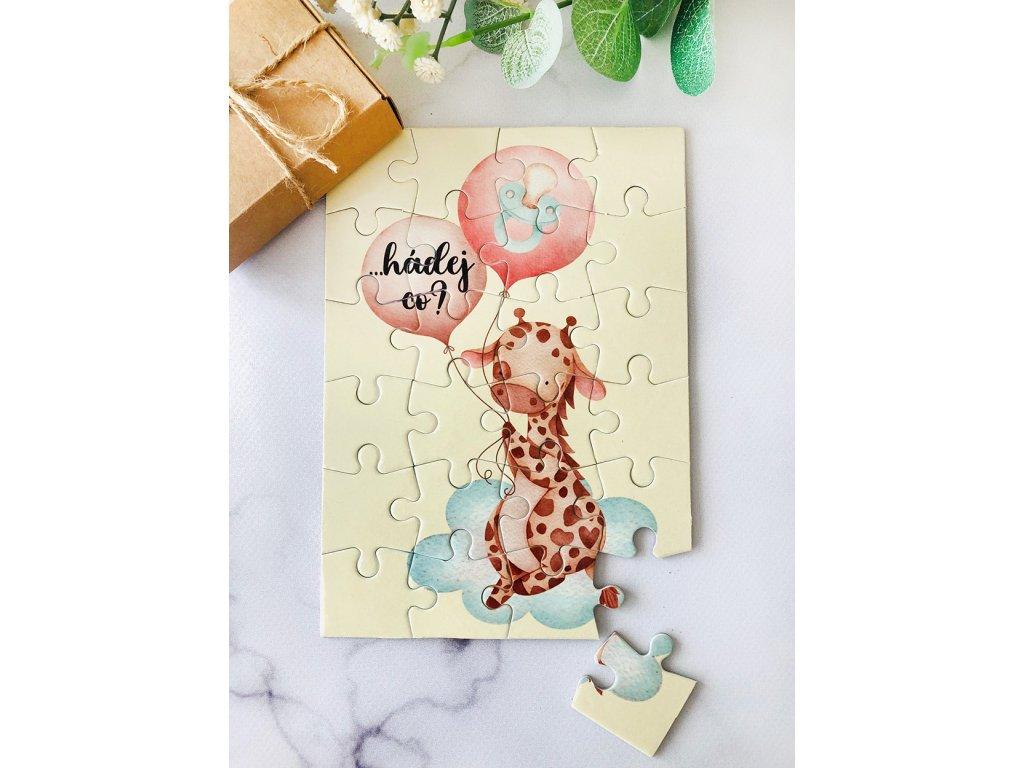 puzzle OT žirafka