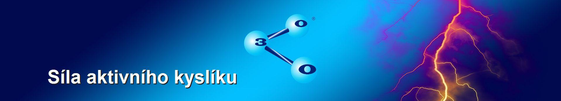 Mocná síla aktivního kyslíku - ozonu v malém přístroji