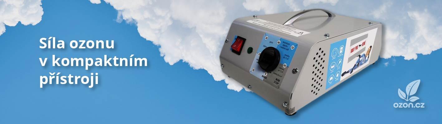 Síla ozonu v kompaktním přístroji