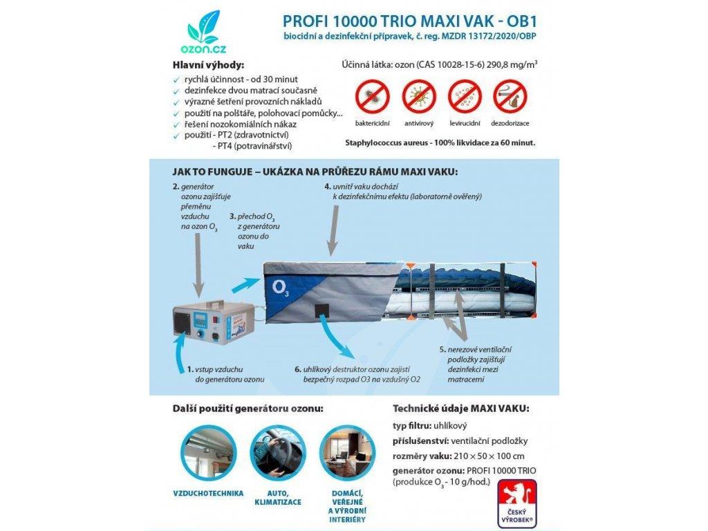 PROFI 10000 TRIO MAXI VAK OB1 OZON