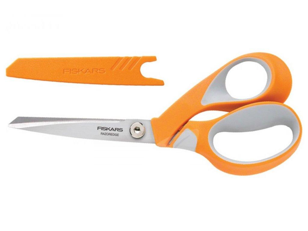 Nůžky na látku Fiskars Razor Softgrip 21 cm 8185