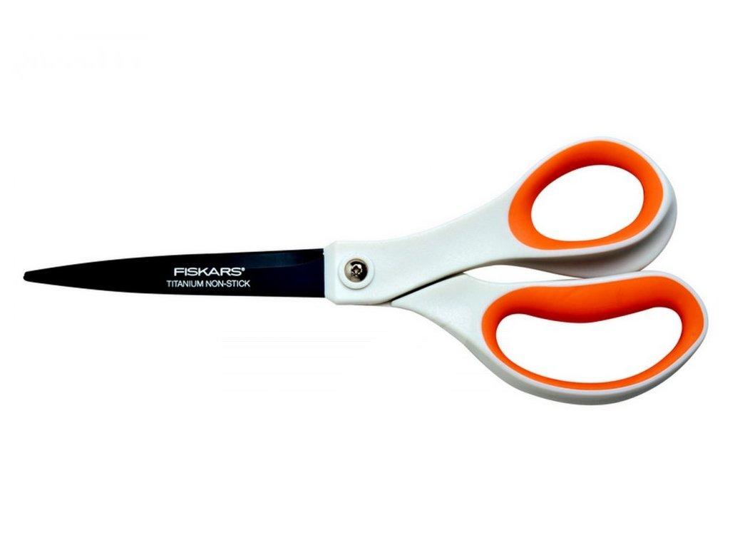 Titanové nůžky Fiskars 21 cm