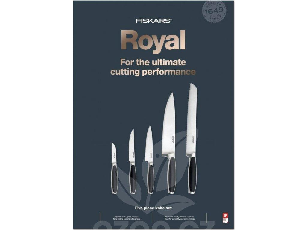 Fiskars Sada kuchyňských nožů Fiskars Royal 1020242 (Hmotnost 800.000g)