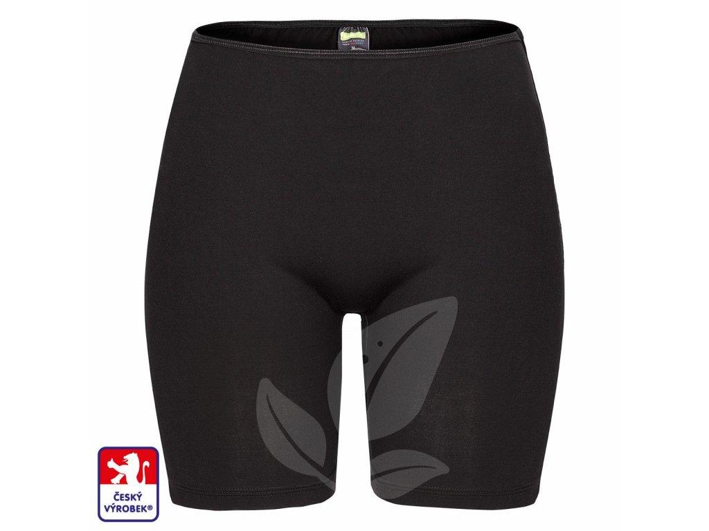 Panties Long Black front O3