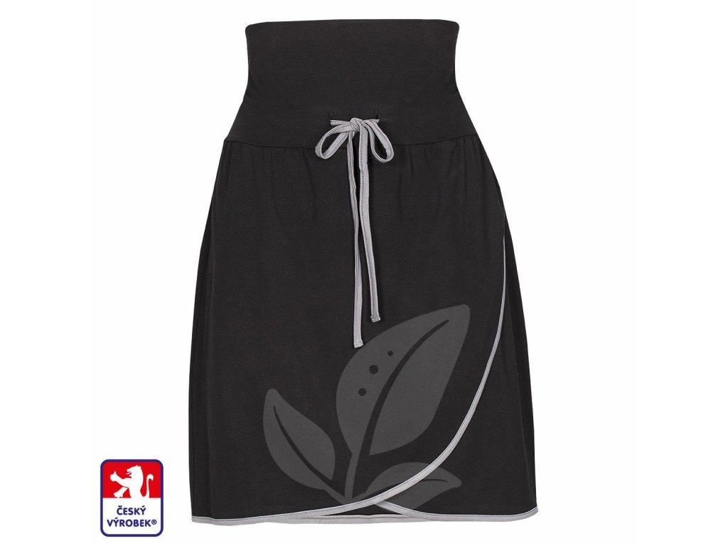 Skirt grey front O3