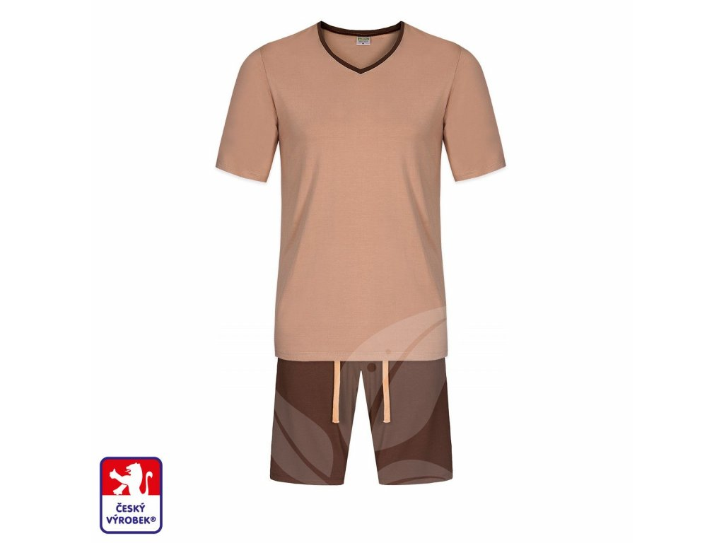 Pyjamo set short body brown O3