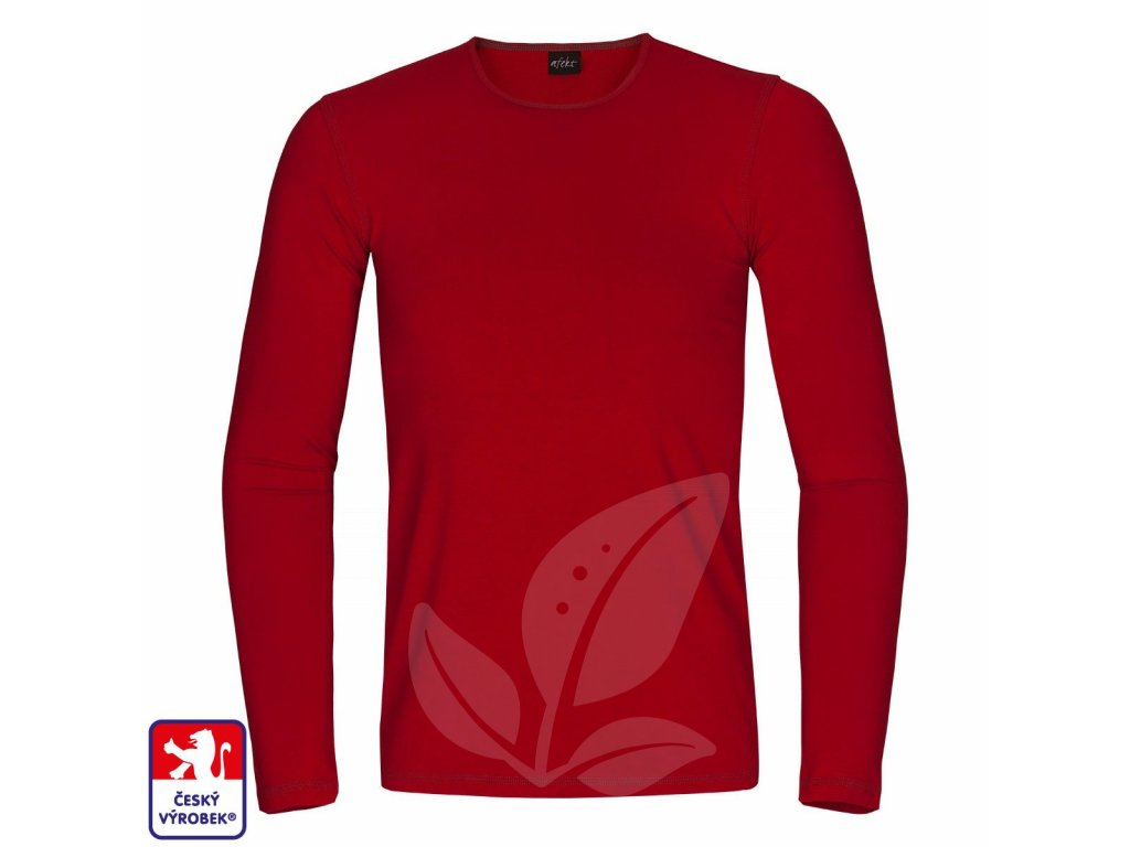 Slim long red front O3