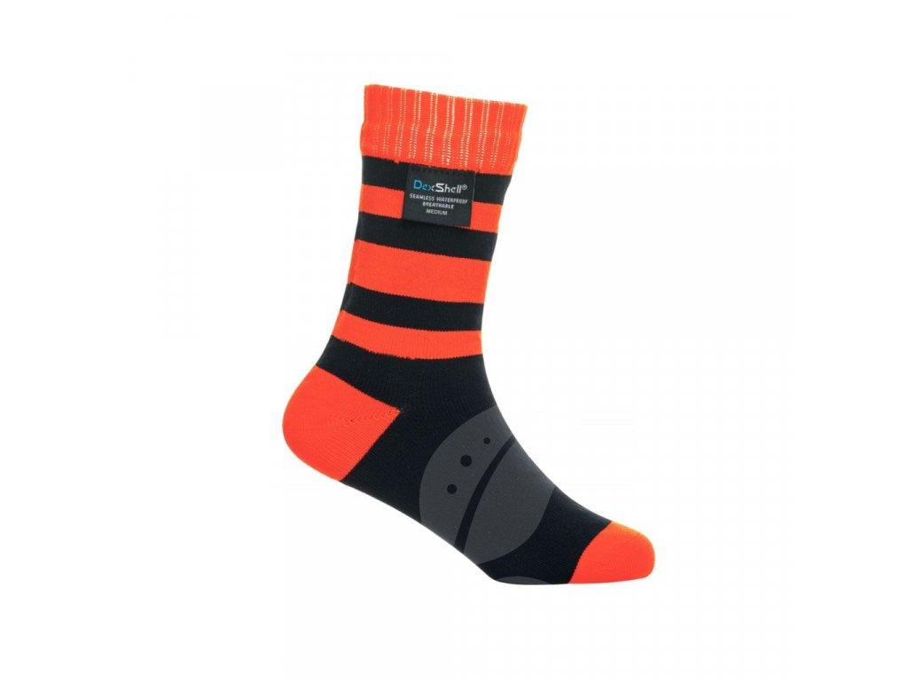 DexShell Children Sock tangelo Red
