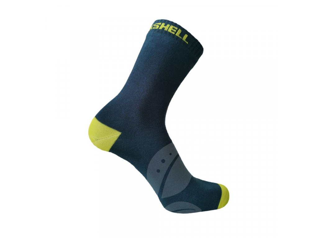 DexShell Ultra Thin Crew Socks Navy