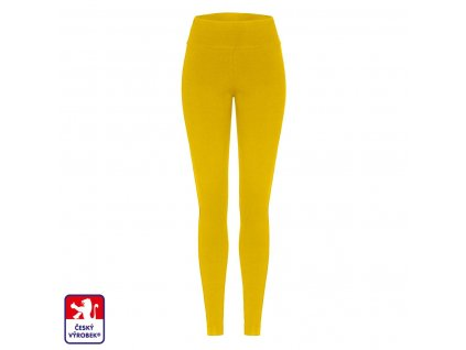 Leggings long mustard front O3